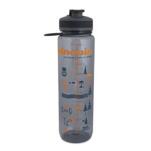 Üveg Pinguin Tritan Sport Bottle 1,0L grey, Pinguin