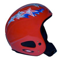 Ski sisak Gabel Issimo Gerinc Back JR Star Red, Gabel