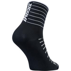 Kerékpáros zokni Silvini Bevera UA1659 black-white, Silvini