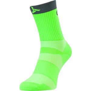 Kerékpáros zokni Silvini Szántás UA1660 zöld szén, Silvini