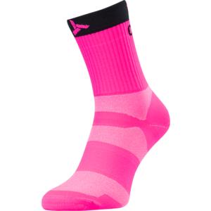 Kerékpáros zokni Silvini Szántás UA1660 pink-faszén, Silvini