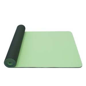 Mosó  jóga YATE jóga sakk és matt dupla réteg / zöld / anyag TPE, Yate
