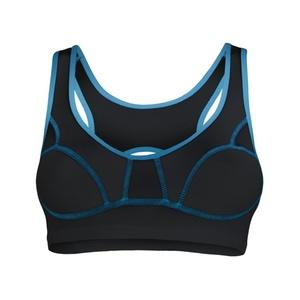Női melltartó Sensor Lissa fekete / kék 1065533-33