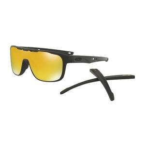 Solar szemüveg OAKLEY Crossrange Shield MTT Black w/ 24K Irid OO9387-0631, Oakley