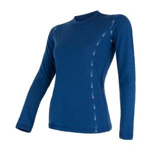 Női póló Sensor MERINO AIR sötét kék 17200014, Sensor