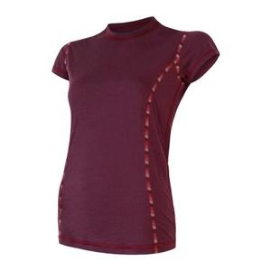 Női póló Sensor MERINO AIR tm. borszínű 18200005, Sensor
