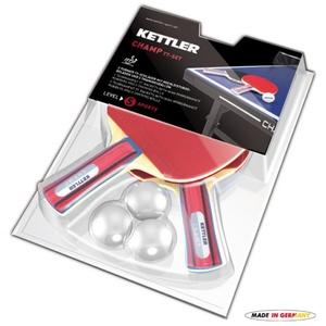 Set denevérek és ball  asztali tenisz Kettler CHAMP 7091-700, Kettler