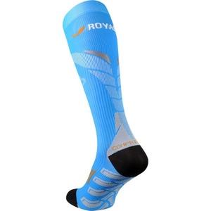 A tömörítés térdzokni ROYAL BAY® Neon 2.0 Blue 5099, ROYAL BAY®
