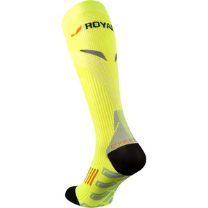A tömörítés térdzokni ROYAL BAY® Neon 2.0 Yellow 1099, ROYAL BAY®