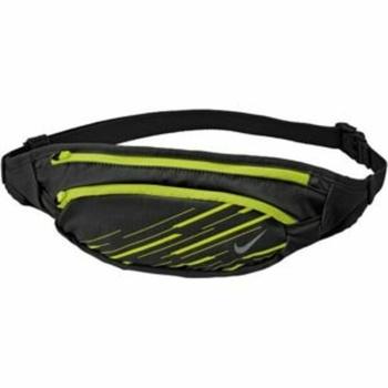 Derék Nike Large kapacitás Waistpack Fekete / Volt / Ezüst, Nike