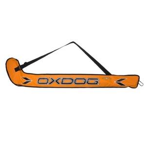 Floorball táska OXDOG 2C STICKBAG ifjabb narancs / zöld, Oxdog