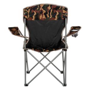 Összecsukható szék  korlátozásdovod HIGHLANDER MORAY terepszínű, Highlander