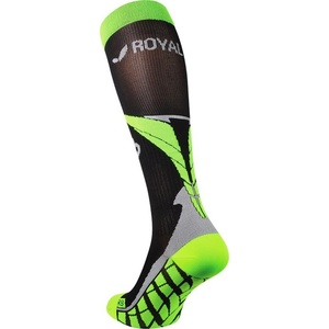A tömörítés térdzokni ROYAL BAY® Air Black/Green 9688, ROYAL BAY®