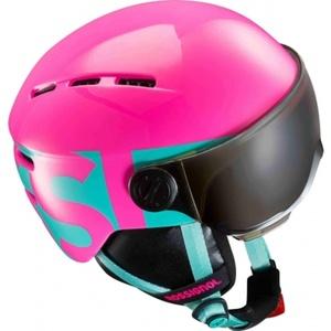 Ski sisak Rossignol Visor Jr Lány rózsaszín RKGH501, Rossignol