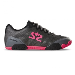 Cipő Salming Hawk Shoe Women Gunmetal / rózsaszín, Salming
