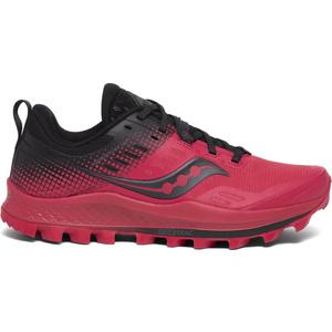 Férfi sífutó cipő Saucony Peregrine 10 Red / Black, Saucony