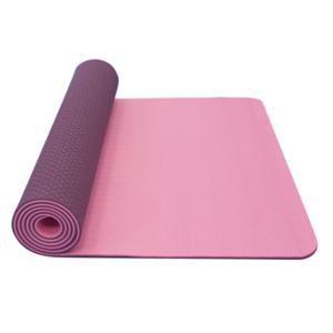 Mosó  jóga YATE jóga sakk és matt dupla réteg / rózsaszín / ibolya / anyag TPE, Yate