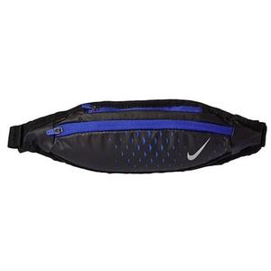 Derék Nike Small kapacitás Waistpack Fekete / Paramount Kék / Ezüst, Nike