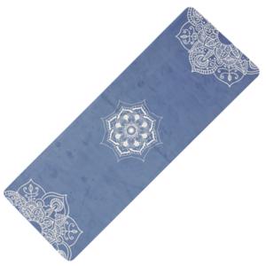 Mosó  jóga YATE jóga természetes gumi / minta C / kék, Yate