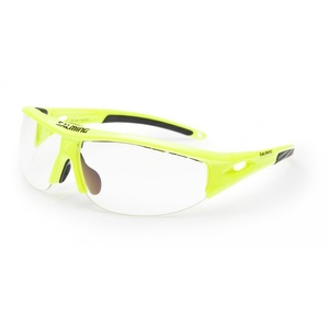 Szemüvegek SALMING V1 Protec szemüveg Senior Safety Yellow, Salming
